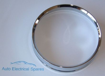 010152 CLASSIC CAR CHROME BEZEL for Mini MK1 Morris Minor SMITHS Speedometer